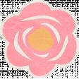Summer Daydreams - Pink Flower Sticker