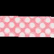 Summer Daydreams - Pink Polka Dot Straight Ribbon