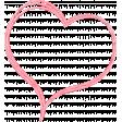 Summer Daydreams - Pink Twisted Raffia Heart