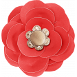 Summer Daydreams - Red Paper Flower