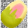 Summer Daydreams - Yellow Pink Bud