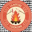 Outdoor Adventures - Word Art - Campfire Cooking