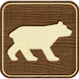 Outdoor Adventures - Recreational Icon Woodchips - Bear