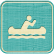 Outdoor Adventures - Recreational Icon Woodchips - Canoeing