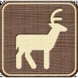 Outdoor Adventures - Recreational Icon Woodchips - Deer