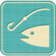 Outdoor Adventures - Recreational Icon Woodchips - Fishing