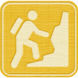Outdoor Adventures - Recreational Icon Woodchips - Mountain Climbing