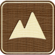 Outdoor Adventures - Recreational Icon Woodchips - Mountains