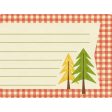 Outdoor Adventures - Journal Card - Gingham