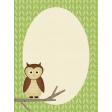 Outdoor Adventures - Journal Card - Owl