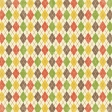 Outdoor Adventures - Colorful Argyle Paper