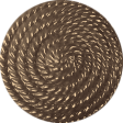 Outdoor Adventures - Brown Rope Button