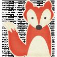 Outdoor Adventures - Fox Sticker