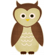 Outdoor Adventures - Owl Sticker