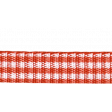Outdoor Adventures - Red Gingham Straight Ribbon