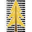 Outdoor Adventures - Sticker - Yellow Pine Tree