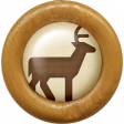 Outdoor Adventures - Wood Flair - Deer Icon