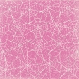 Spookalicious - Pink Spider Web Paper