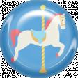 At The Fair - Brad - Carousel Horse