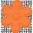 Paper Flower - Orange