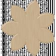 Wood Veneer Flower