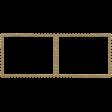 Navy Stamp Frame