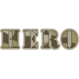 Army Hero Word Art