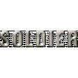 Soldier Word Art