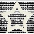 White Cardstock Star