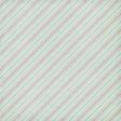 Paper 043 - Stripes - Tan & Mint