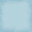 Polka Dots 01 Paper - Blue & White