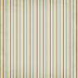Stripes 37 Paper - Blue & Brown