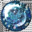 Challenged Brad - Glitter Blue Light