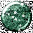 Challenged Brad - Glitter Teal 1