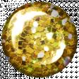 Challenged Brad - Glitter Yellow