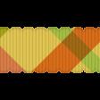 Challenged Ribbon - Plaid & Scalloped