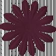 Change Flower - Maroon