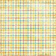 Plaid Paper - Yellow