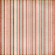 Stripes 50 Paper - Teal & Red