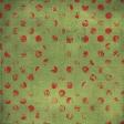 Malaysia Green Distressed Polka Dot Paper