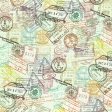 Passport Stamp Paper