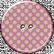 Malaysia Plastic Button - Light Purple
