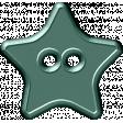 Malaysia Button - Teal Star