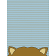 Scout Journal Card - Racoon