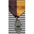 Khaki Scouts Decoration Medal On Ribbon