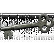 Khaki Scouts Medal Pin - Key