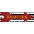 Khaki Scouts Label - Camping Arrow