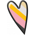 Pencil - Heart Sticker