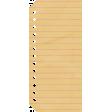 Pencil - Notebook Tag