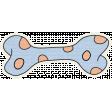 Puppy Dog Bone - Polka Dots